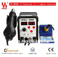 YIHUA YIHUA 898D+ Guangdong, China (Mainland) Free shippsing 2 function in 1 YIHUA 898D+ Hot Air Desoldering Station