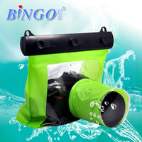 Wholesale 5 Colors Bingo M Digital Camera Waterproof Bag Underwater Diving Floating Housing Case Pouch for Canon Nikon Sony DSLR SLR