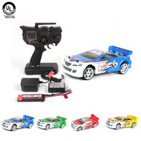 Wholesale 2014 Scale Miniature Model Car Brushless Motor KV WD Electric Touring Car Kit Remote Control Gift Toys Colors
