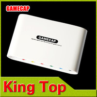 Wholesale 4Pcs White Color Video GameCap Game Capture HD Record Xbox and PS3 PSP in Real Time