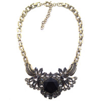 Beaded Necklaces Women's Fashion 2014 New wholesale High quality fashion necklace & pendant costume choker chunky collar bib design JC Necklace statement jewelry