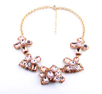 Beaded Necklaces Women's Fashion 2013 High Quality necklaces fashion costume chunky choker necklace crystal pendants necklaces luxury statement jewelry women
