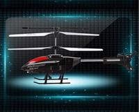 other other other Wholesale-Big size 47cm 3 Channel I R Aluminium Alloy RC Helicopter Remote Control toy With Gyro Shatter Resistant gifts