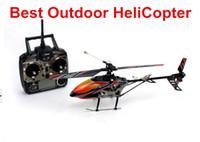 other other other Wholesale-Hot WL toy V912 2.4GH 4 CH big outdoor Remote Control helicopter RC Gyro Quad copter electronic boy toys gift Helicopter