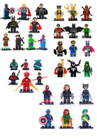 Wholesale Marvel Super Hero Figures Classic Toys Building Blocks Sets Model Bricks Decool Minifigures The Avengers Black Widow