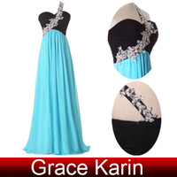 Grace Karin New Arrival One Shoulder Formal Ball Gown Evenin...