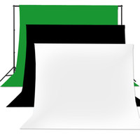 Wholesale Photography Studio backdrop kit Continuous Photography Photo Studio Cotton Muslin Backdrop