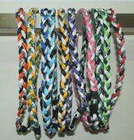 Wholesale via DHL Titanium Ropes Necklaces Tornado Sports Necklace