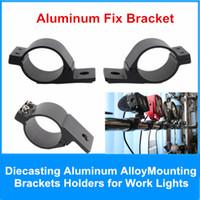 Wholesale Led Light Bracket for Offroad Car Bull Bar Work light Lamp Holder Aluminum Mounting Brackets fix mm