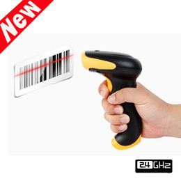 Hot! 2.4G RF Wireless Cordless Laser Barcode Scanner Bar Code Reader USB Automatic Handheld High Speed Can Storage 5000 Barcode C1781