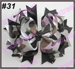 free shipping 120pcs 5.5'' big hair bows girl hair accessories popular hair clips