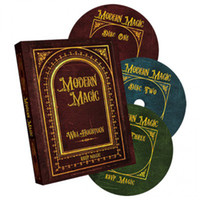Wholesale Modern Magic by Will Houstoun and RSVP Magic Volume set teaching Video send via email Close up card magic