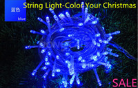 LED Christmas Non Waterproof 15PC Multicolour 10M led string light,string light, led string For Bedroom 220V 110V for Christmas Party Wedding EU & US PLUG With Low Heat