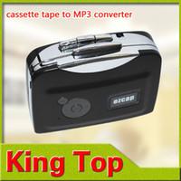 Wholesale 2Pcs USB Cassette Capture Player Tape to PC Super Portable USB Cassette to MP3 Converter Capture