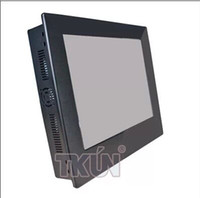 Wholesale Aluminum alloy19 inch industrial touch panel embedded one tablet touch one machine