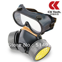 Light black fancy N95 freeshipping dual filter gas respirator air valve breathable painted protective masks Industrial Safety Equipment mask