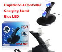 for PS4   High Quality Black Dual USB Charging charger Dock Stand for Playstation 4 PS4 Game Controller Free Shipping
