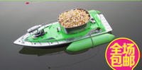 Wholesale HOUR T10 mini RC Bait Fishing Boat M remote fish finder boat fishing green and red