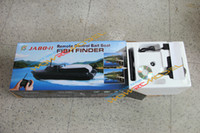 Wholesale Newest Jabo Fishing Boat with Lipo Battery and Sonar Fish Finder JABO BL JABO BL New Version of Jabo B BS A AS