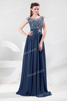 Grace Karin New Long Chiffon Ball Gown Cocktail Bridesmaid W...