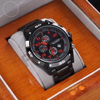 Fashion Men's Quartz-Battery 2014 Hot Fashion Full Steel Watch Sports Curren Watch Japan Movement Quartz Black Man Watch 3ATM Waterproof Dropship 8021