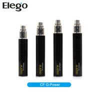Wholesale Aspire newest stainless steel Carbon Fiber Coated Tube rechargeable Battery Aspire CF G Power Battery