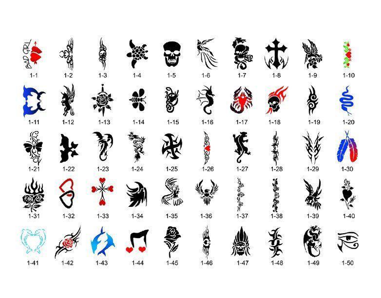 Татуировки шаблоны 77