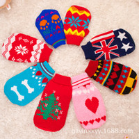Wholesale BX00011 autumn and winter fashion pet clothes sleeveless sweater dog clothes sweater Slim