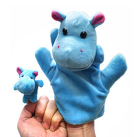 Wholesale Of Hand Puppet amp Finger Puppets Lovely Kids Baby Plush Toys Designs Assorted Animal Dolls Learning amp Education Tools For Baby
