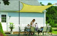 Wholesale UV Square Sun Shade Sail mX3mX3mX3m Combination square Shade Net