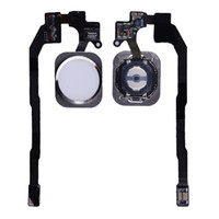 Wholesale For iPhone S Home Button amp Flex Cable Ribbon for iPhone S Fingerprint Recognition Replacement High Quality