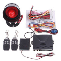 Wholesale Car alarm security system Way Car Alarm Protection System with Remote Control auto burglar alarm system
