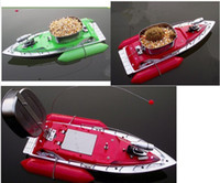Wholesale Hour Hou Mini RC Bait Fishing Boat M Remote Fish Finder T10 Green Red Color