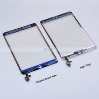 For Apple For iPad Mini Retina Capacitance Original LCD Display Touch Screen Digitizer Assembly for iPad Mini 2 Touch Screen with IC Connector & Home Flex Cable