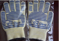 Wholesale 2014 High temperature resistant Home golves Five Fingers Gloves microwave oven gloves prevent heat gloves oven glove ove glove OVEN GLOVE