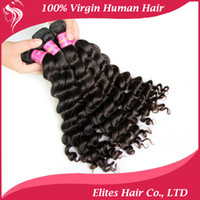 outlet brazilian hair - Factory Outlet Price More Wave quot quot Brazilian Hair Bundles Hair Extension DHL Virgin Brazilian Wavy Hair BH604