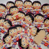 Resin Yes JOY 600pcs lot,Cute Doctor Girl DOC Resin Cabochons Flatbacks Flat Back embellishments Hair Bow Card Making Embellishment ,REY351