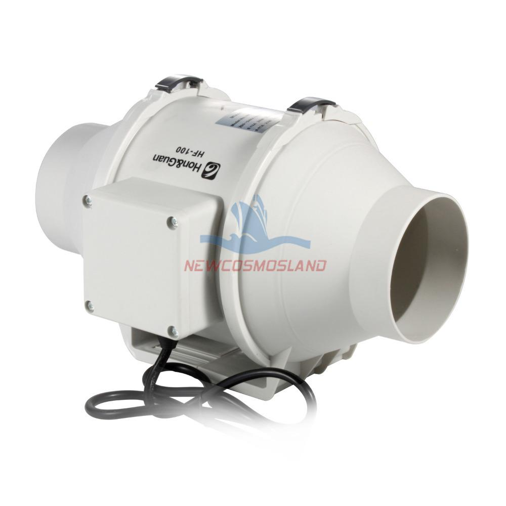2017 230v 50hz 100mm 4 inches no plug included inline duct for 4 bathroom fan duct