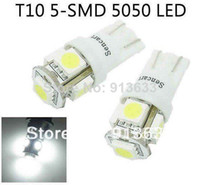 Wholesale In stock x T10 SMD LED White lights bulbs for interior door license plate parking