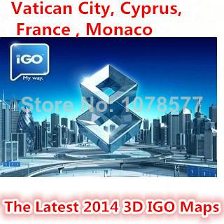 Gps Igo Maps Android All Europe Updated To  Cyprus France Monaco Malta