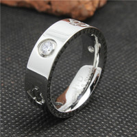 Wholesale Hot Selling Silver Polishing Crystal Unisex Motorcycles Ring L Stainless Steel Top Quality Cool Crystal Best Gift Ring