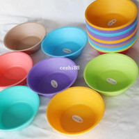 Wholesale Life83 Cheapest Bathroom plastic basin plastic wash undersetters were basin for household multicolour infant