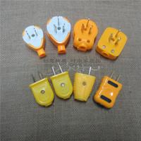 Wholesale Diodes two triangular plug socket plug can convert two pole plug rotatable plug wires