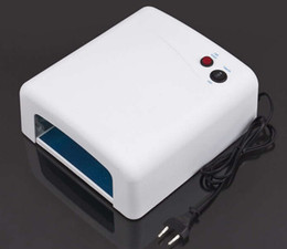 Wholesale Best price New220V W EU Plug Gel UV Curing Professional Ultraviolet Lamp Light nail Dryer Nail Art