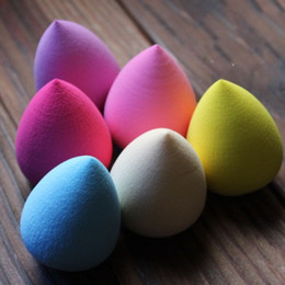 Wholesale Details about Womens Lady Beauty Flawless Sponge Makeup Blender Foundation Egg Style Puff YXB