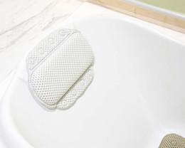 Wholesale Massage bathtub pillow slip resistant bathtub bath pillow soft and comfortable