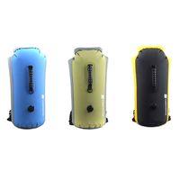 Backpacks backpack dry bags - 3 Colors Outdoor Waterproof Bag Drifting Dry Bag Kayak Canoe Rafting Camping Yellow Blue Green H10371