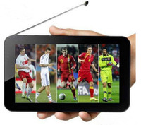 7 inch analog tv - 3G Tablet PC MTK8312 dual core with Analog TV watch Football world Cup Bluetooth GPS wifi Android Dual Camera inch hk888