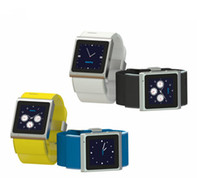 Wholesale 1 inch Dual Core EC308 Android Smart watch Phone GHz TFT Touchscreen Single SIM Unlocked MB RAM GB ROM