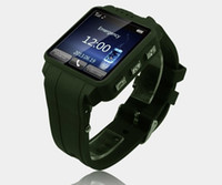 Wholesale 1 inch touch Screen TW120 Watch Cell Phone Single Core Mp thin waterproof mini watch mobile phone